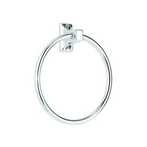 Croydex Sutton Chrome Towel Ring